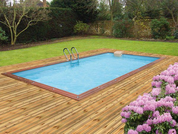 piscine hors sol enterrable