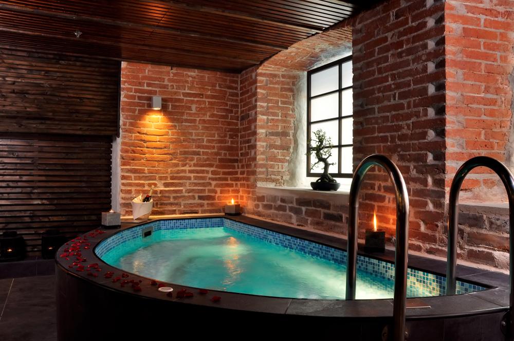 Se relaxer dans une cabine de spa